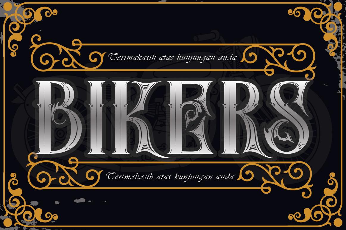 SkinerScort Blackletter Font-1