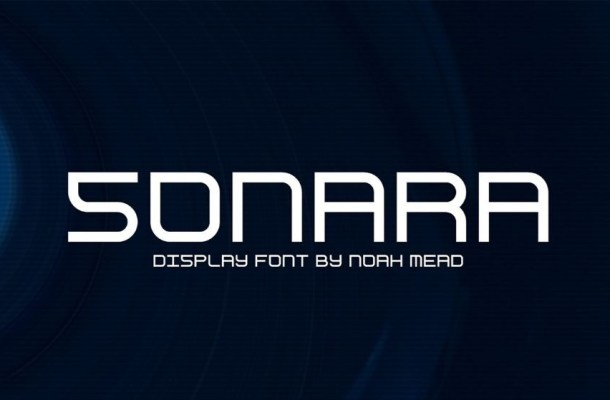 Sonara Unique Display Font Family
