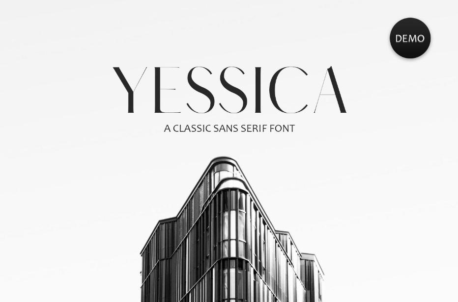 Yessica Sans Serif Font Family-1