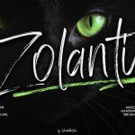 Zolanti Masculne Handwriting Brush Font