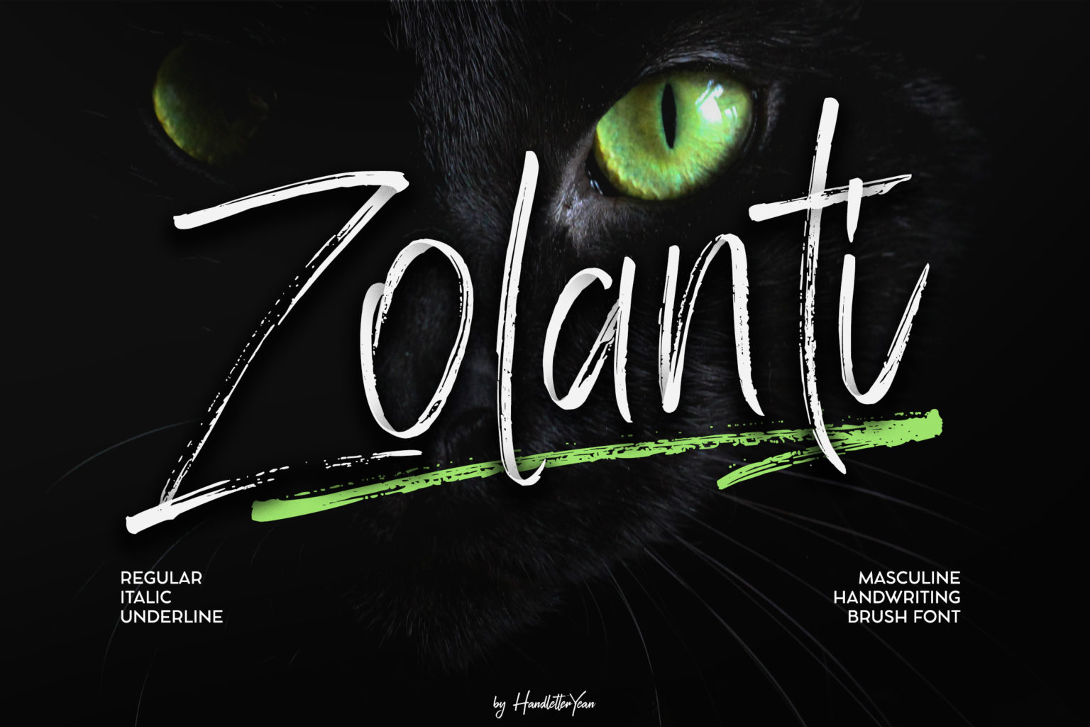 Zolanti Masculne Handwriting Brush Font-1