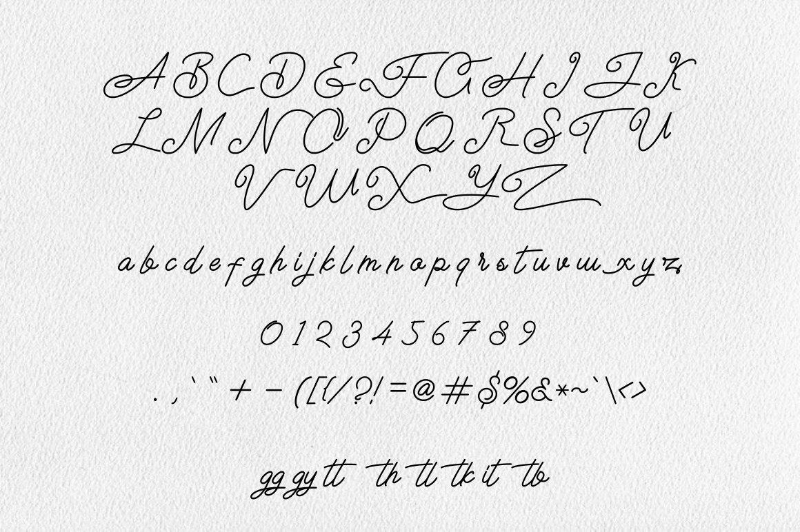 Airlangga Script Handwritten Font-3