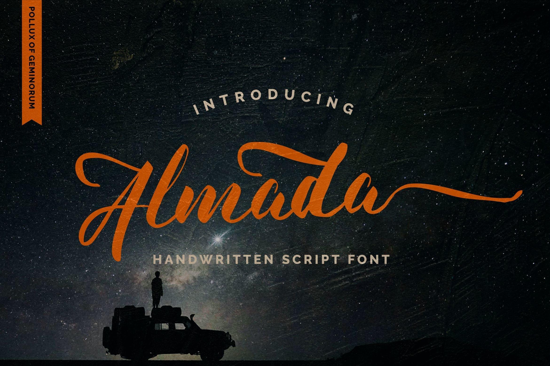 Almada Script Calligraphy Font-1