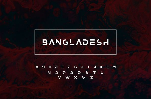 Bangladesh Display Font