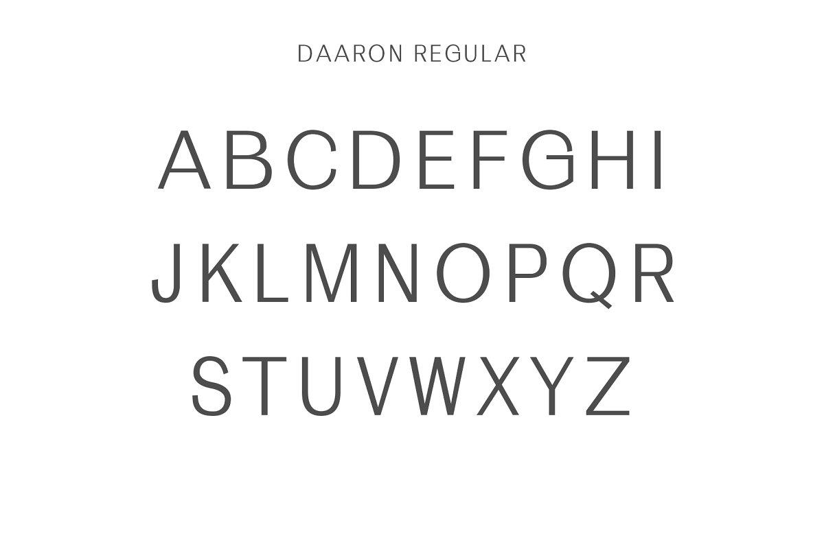 Daaron Sans Serif Font Family-2