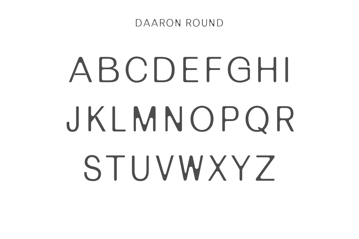 Daaron Sans Serif Font Family-3