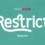 Restrict Display Sans Font