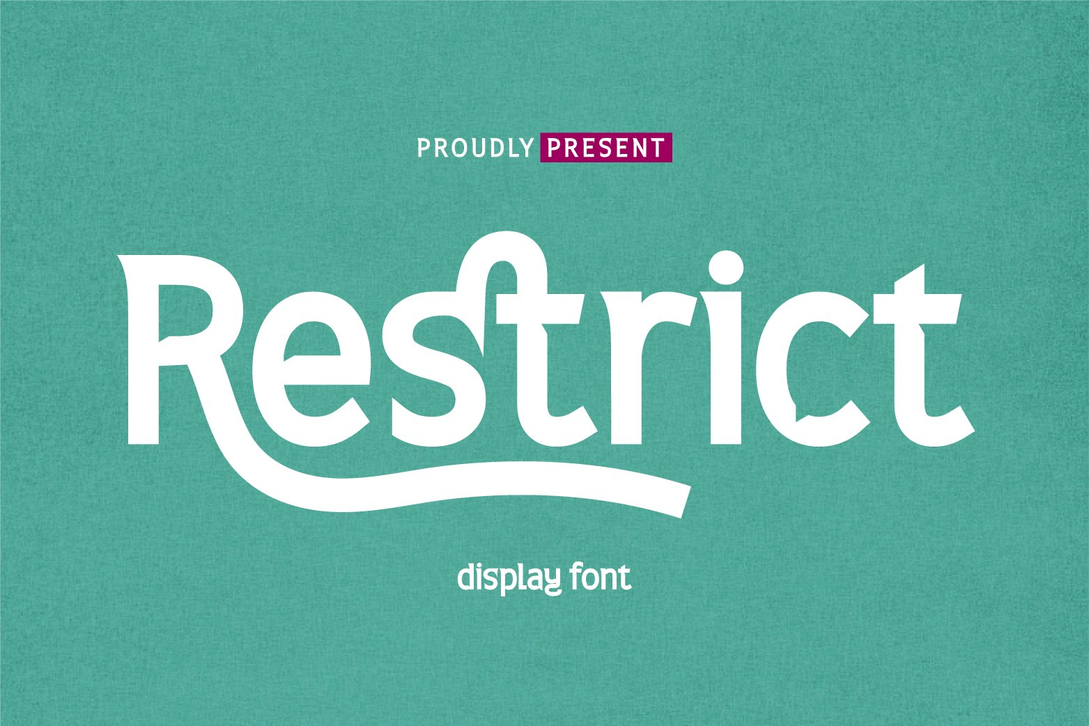 Restrict Display Sans Font-1