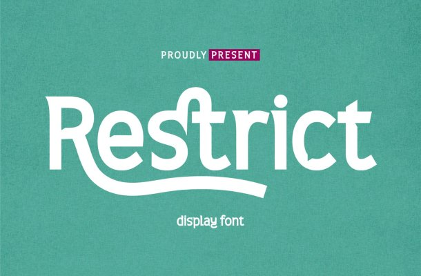 Restrict Display Sans Font