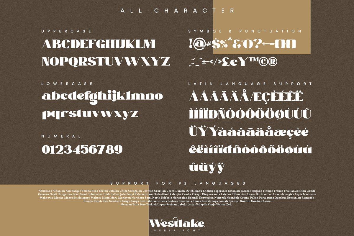 Westlake Serif Font-3