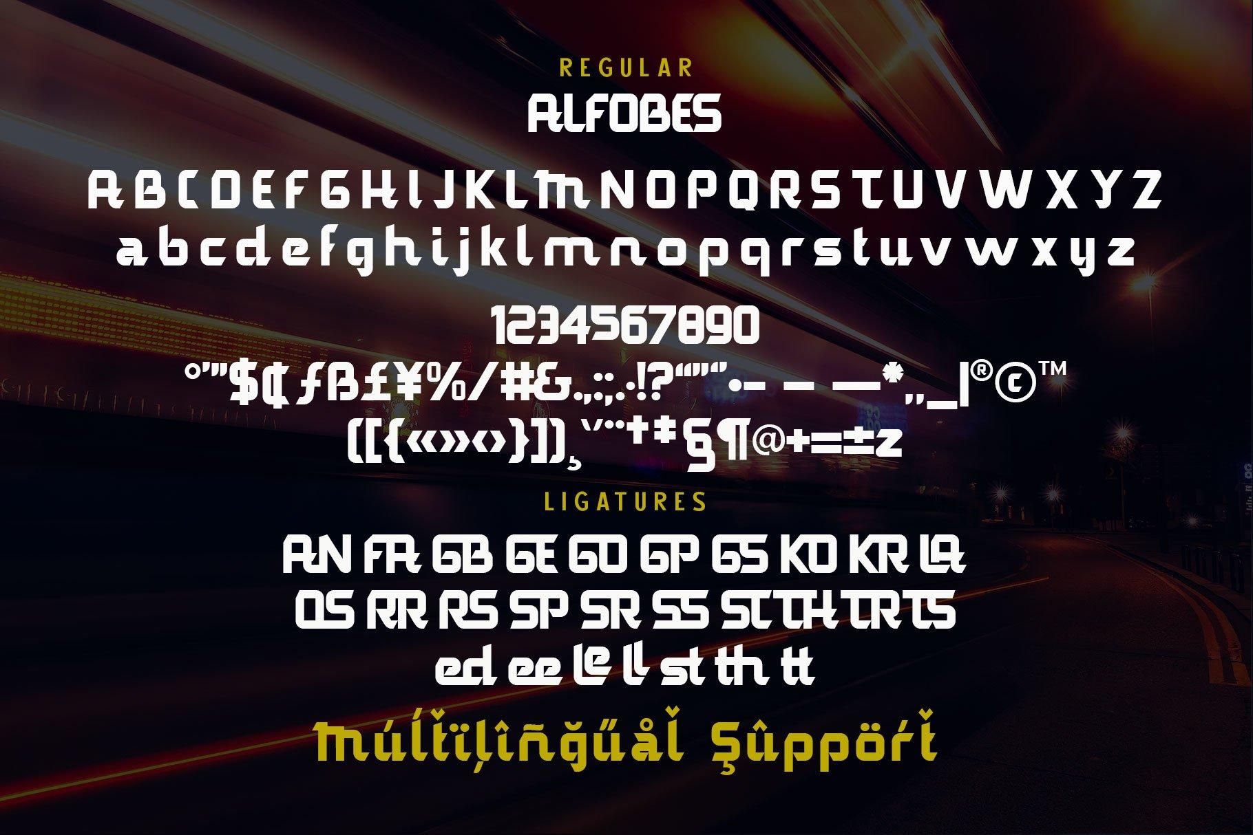 AlfobesDisplay Typeface-3