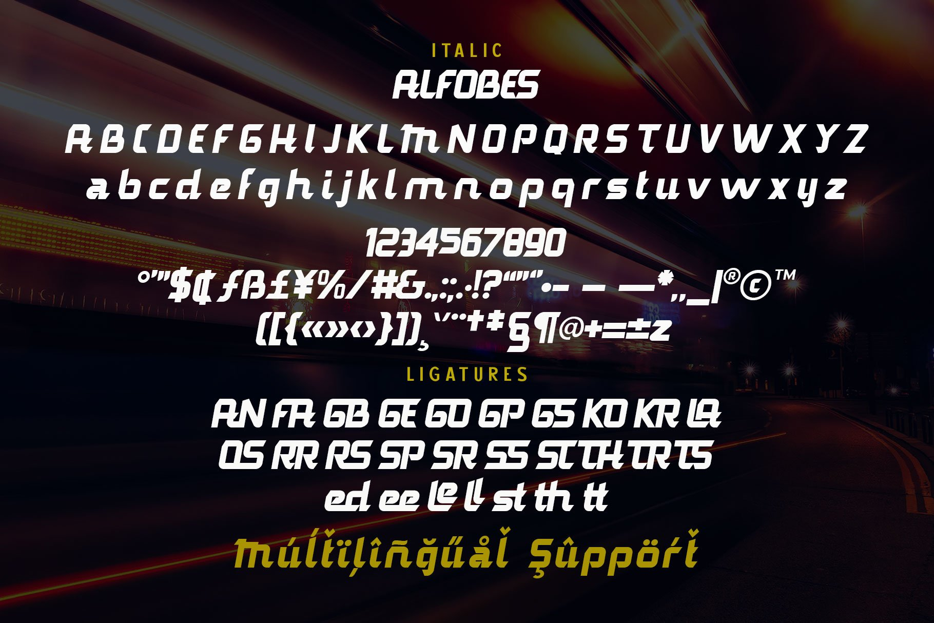 AlfobesDisplay Typeface-4