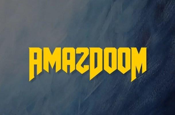 AmazDooM Font