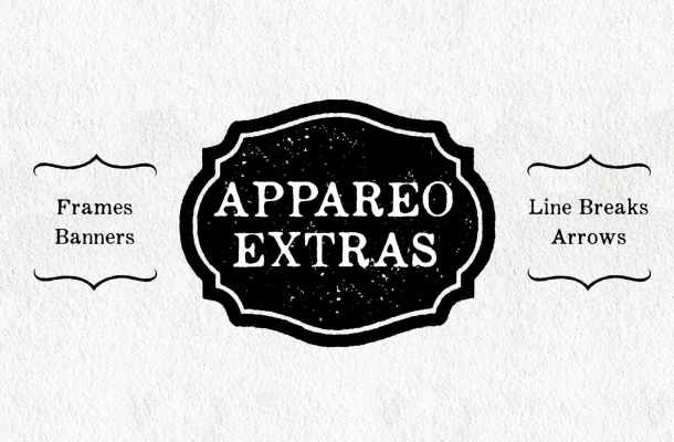 Appareo Extras Font