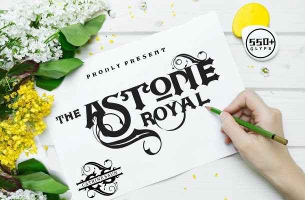Astone Royal Font