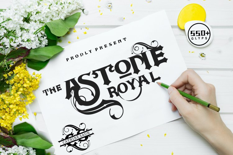 Astone Royal Calligraphy Font-1