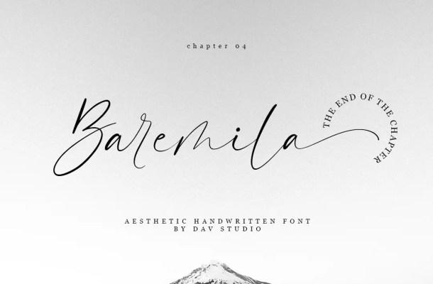 Baremila Font