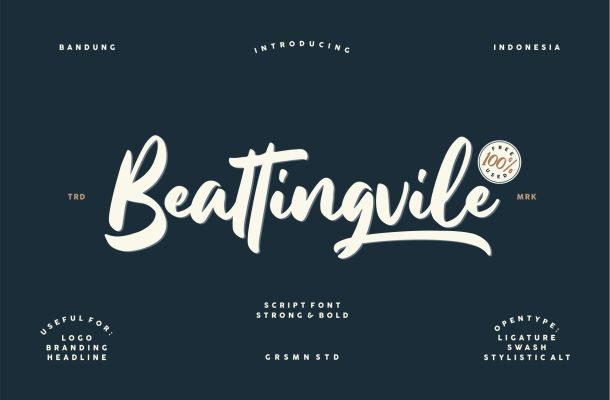 Beattingvile Font