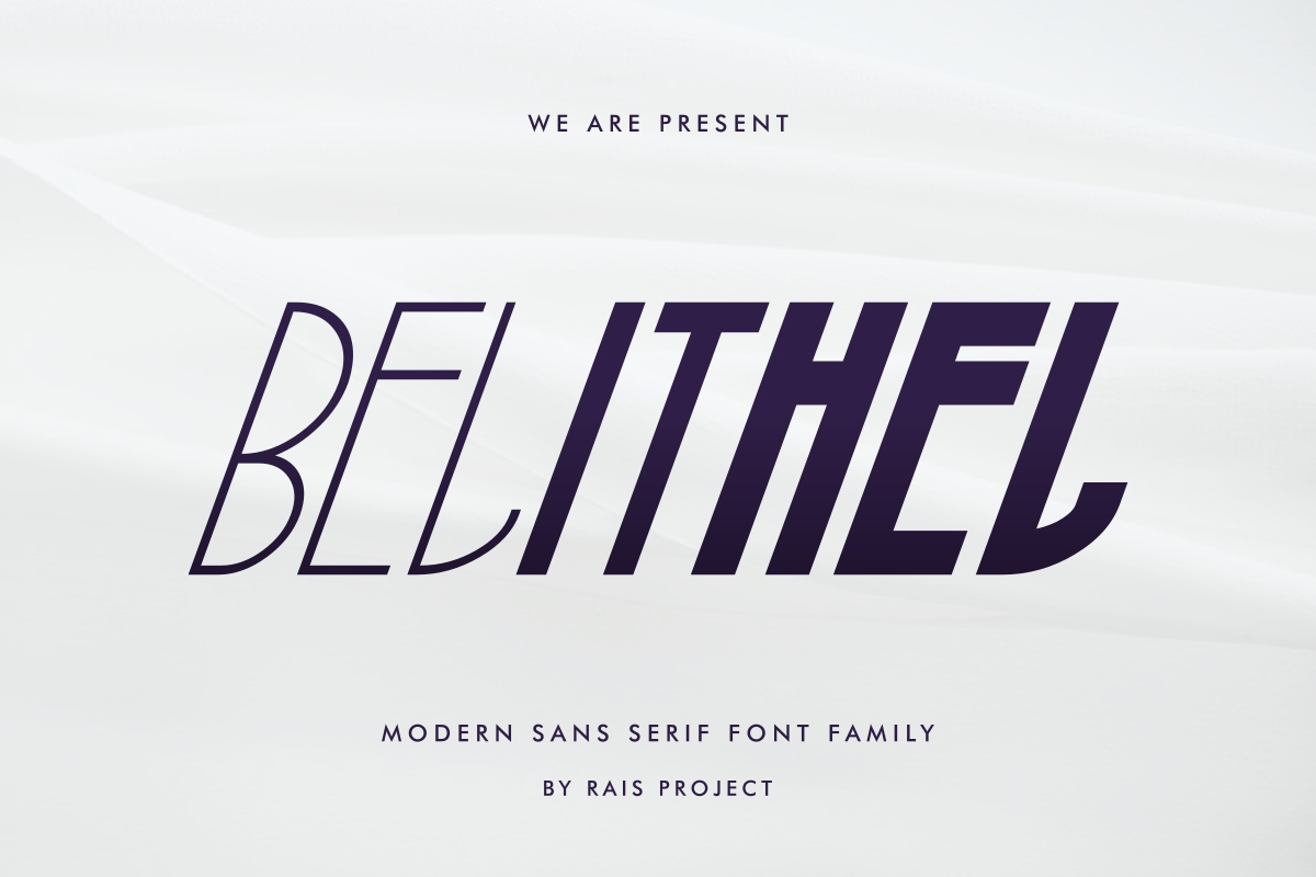 Belithel Sans Serif Font -1