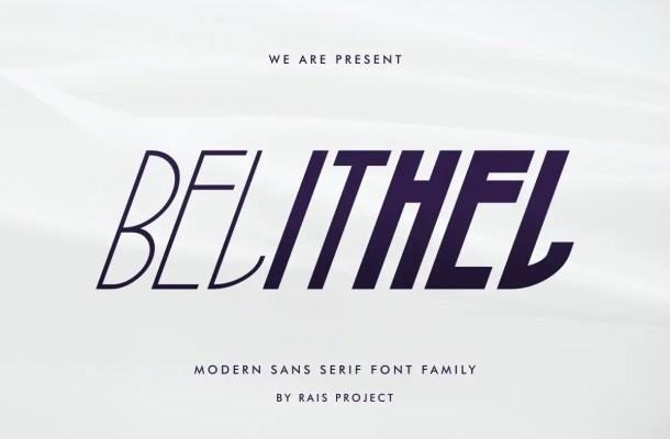 Belithel Font Free