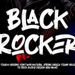 Black Rocker Font