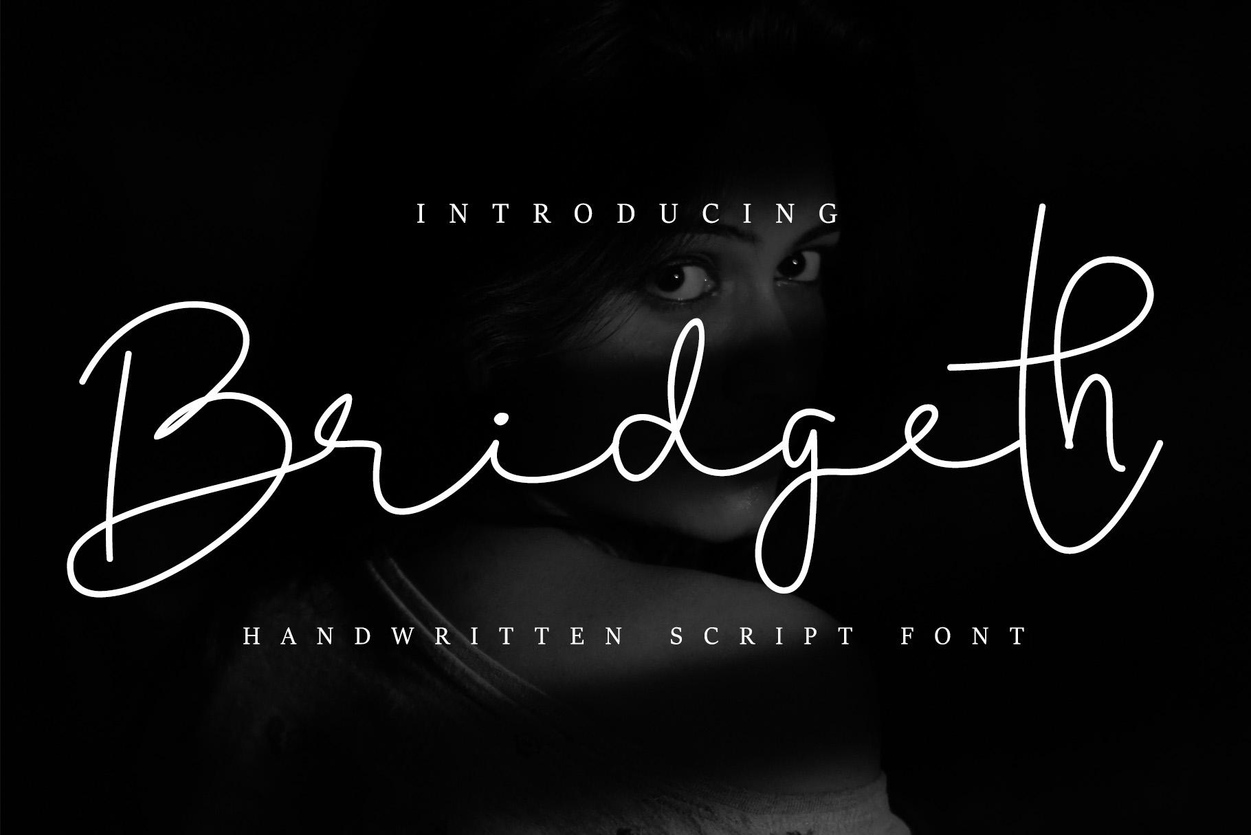 Bridgeth Handwritten Script Font-1