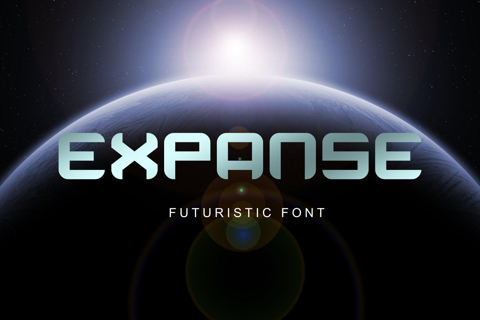 Expanse Display Font-1