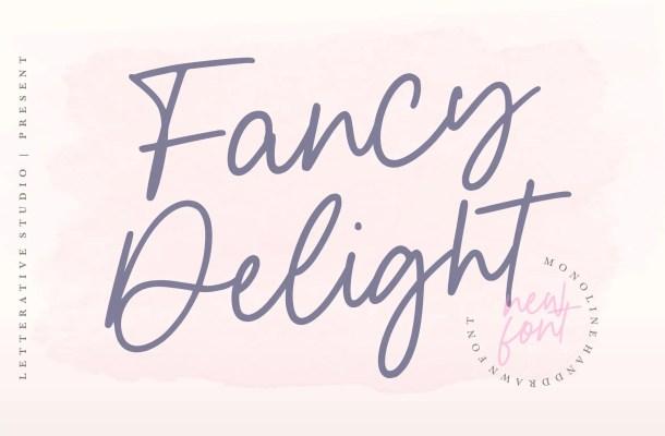 Fancy Delight Font