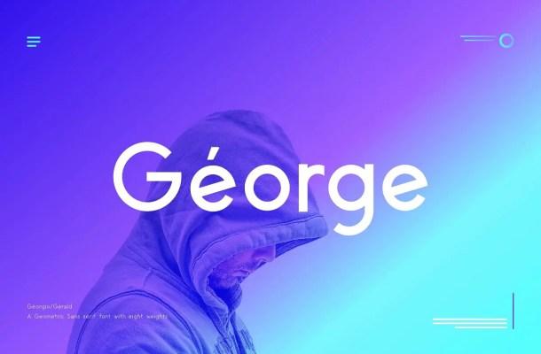 George Typeface
