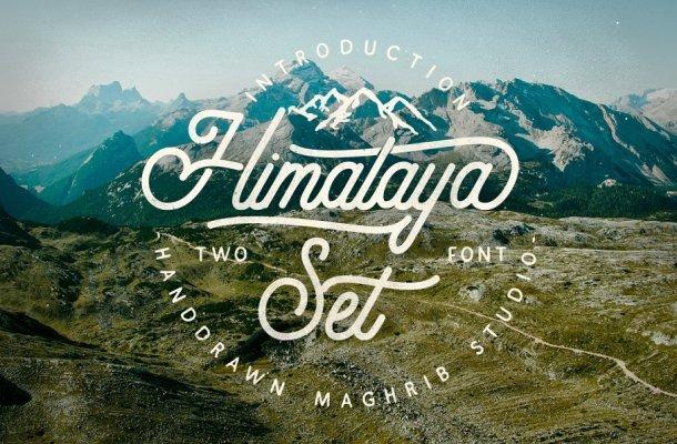 Himalaya Set Font