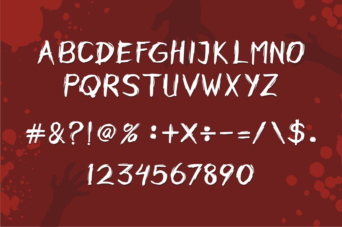 Horobi Brush Font-2