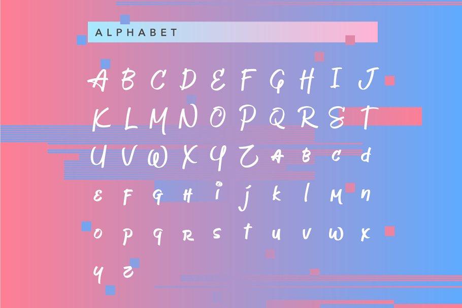 Jeboy Script Typeface-2