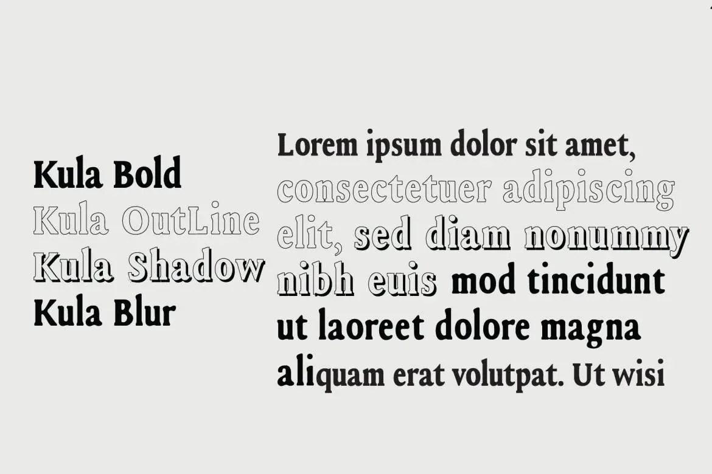 Kula Serif Font-2