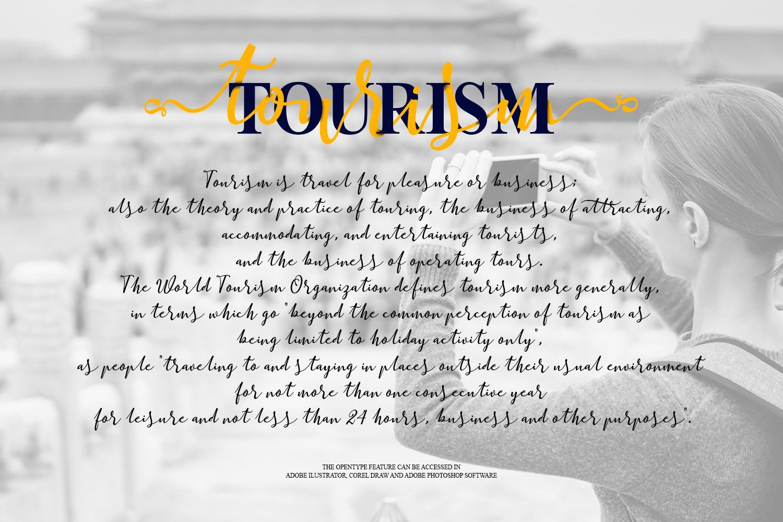 Online Script Calligraphy Font-3