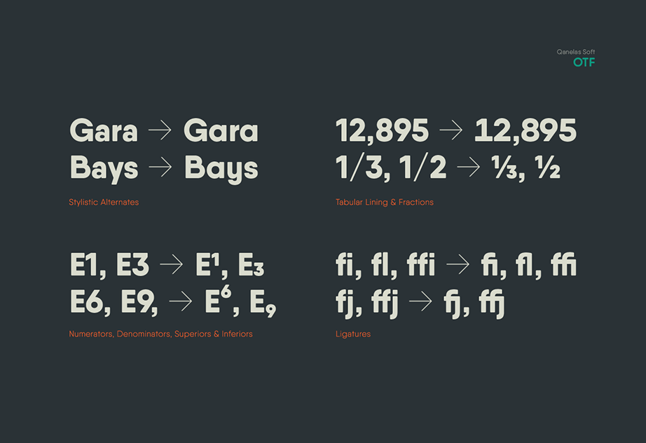 Qanelas Soft Font Free-2