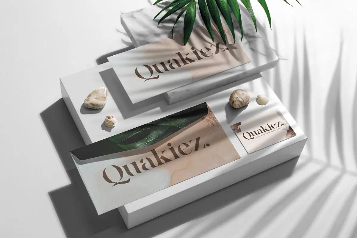 Quakiez Luxury Modern Serif Font-2