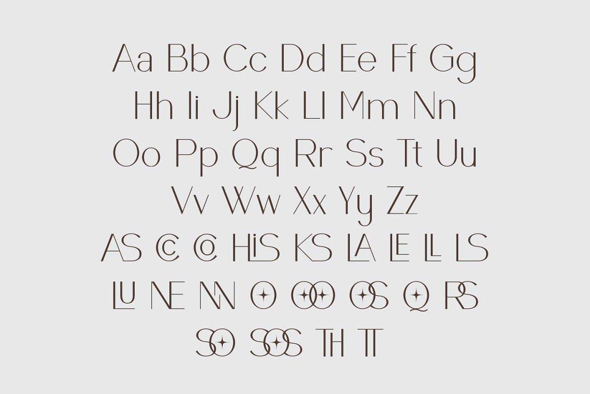 Raccosetta Elegant Sans Typeface-3