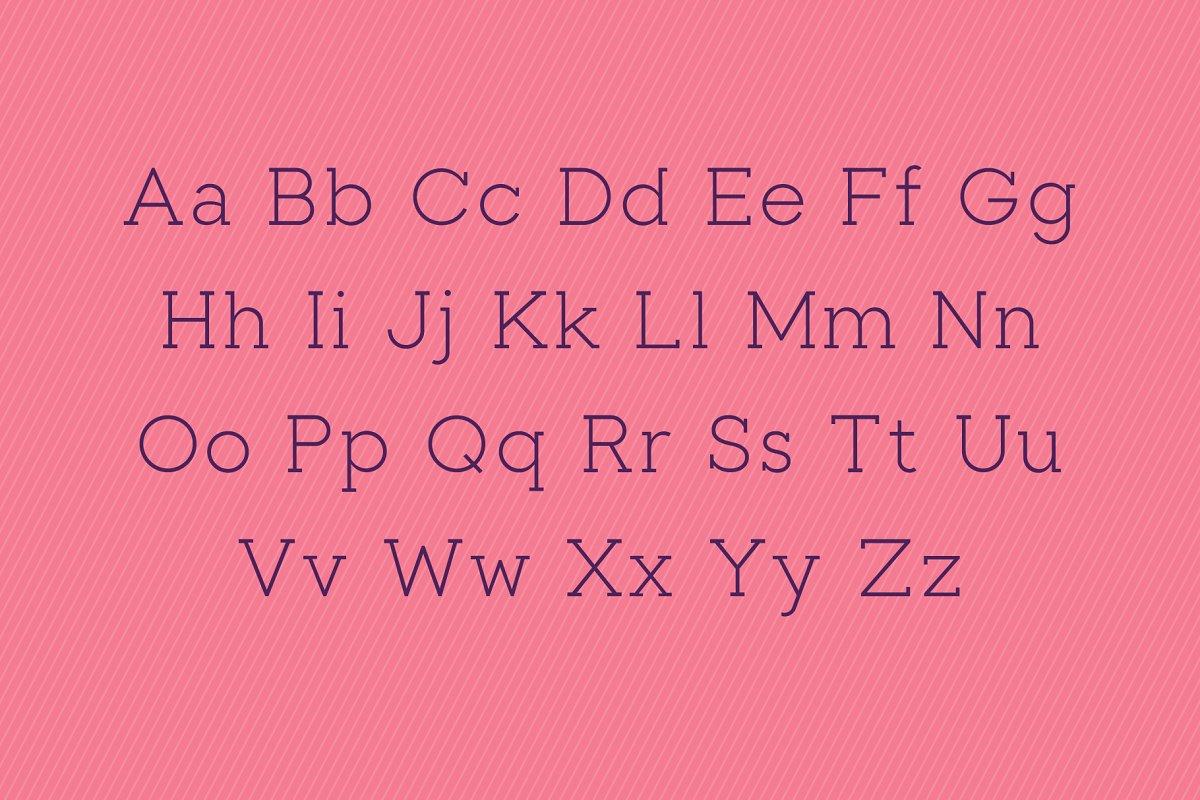 Toma Slab Serif Typeface-2