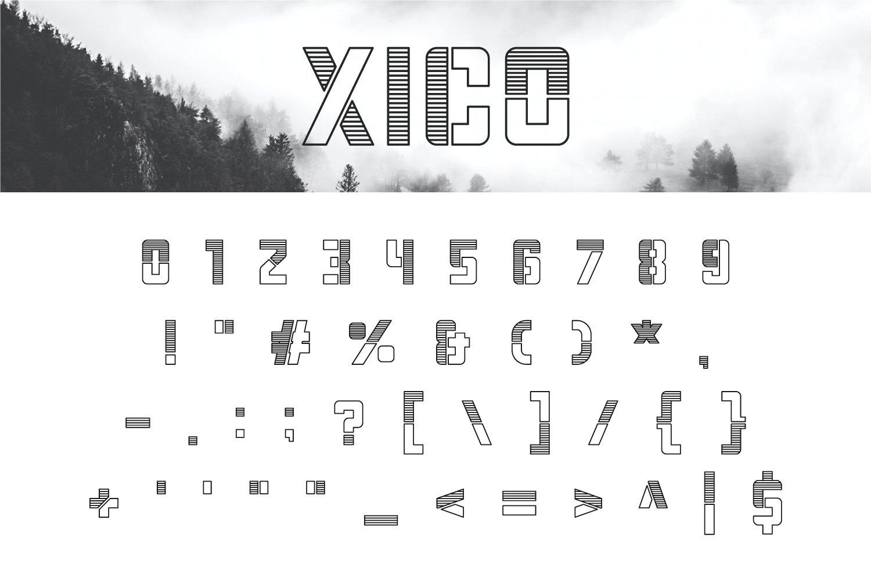 Xico Display Font-3