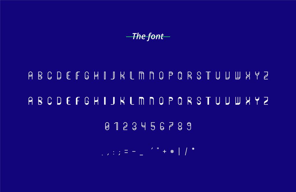 Zero Sans Serif Typeface-2