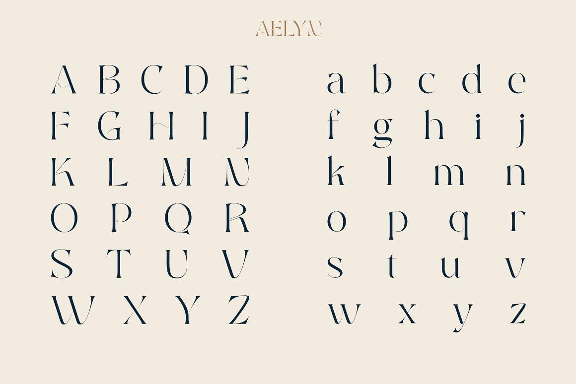 Aelyn Ligature Serif Font-2