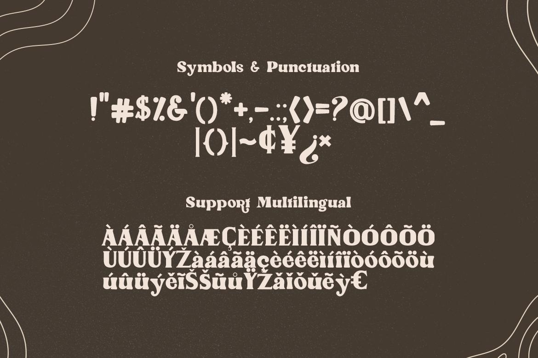 Antique Wonders Serif Font-3