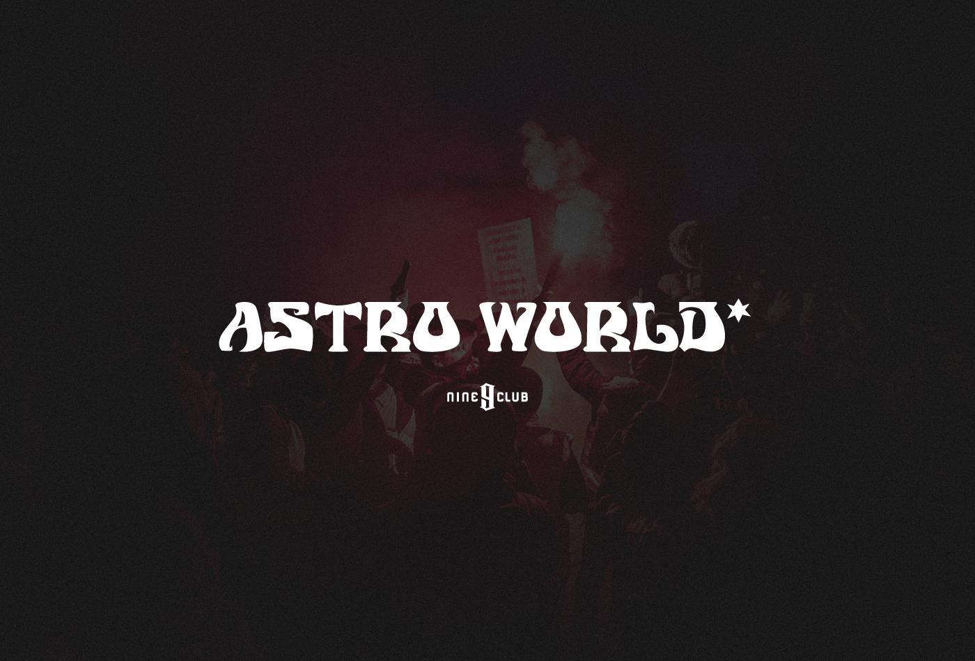 Astro World Fancy Font -1