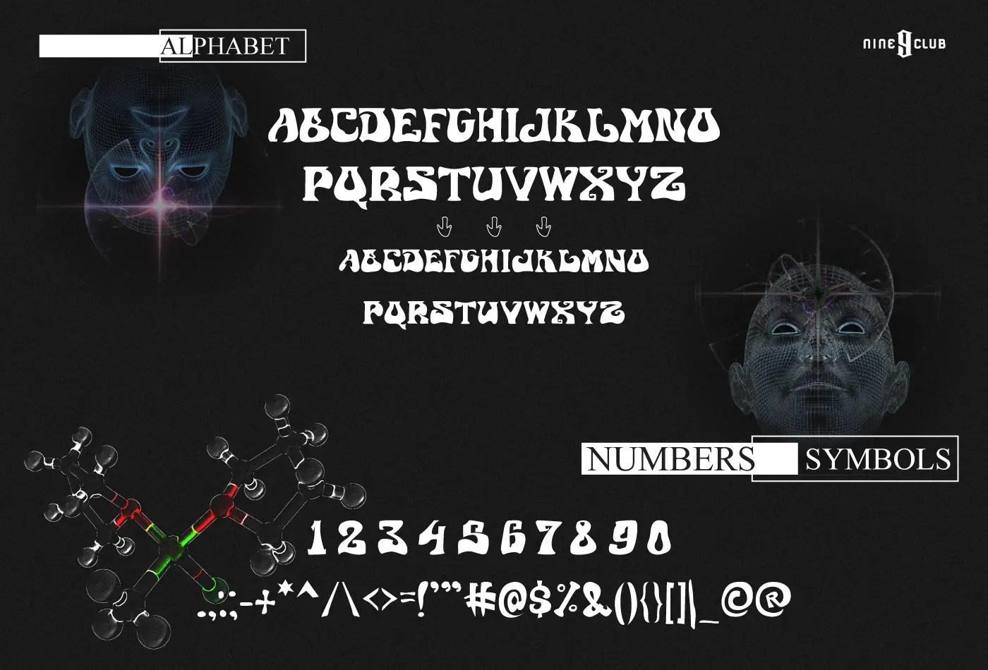 Astro World Fancy Font -2