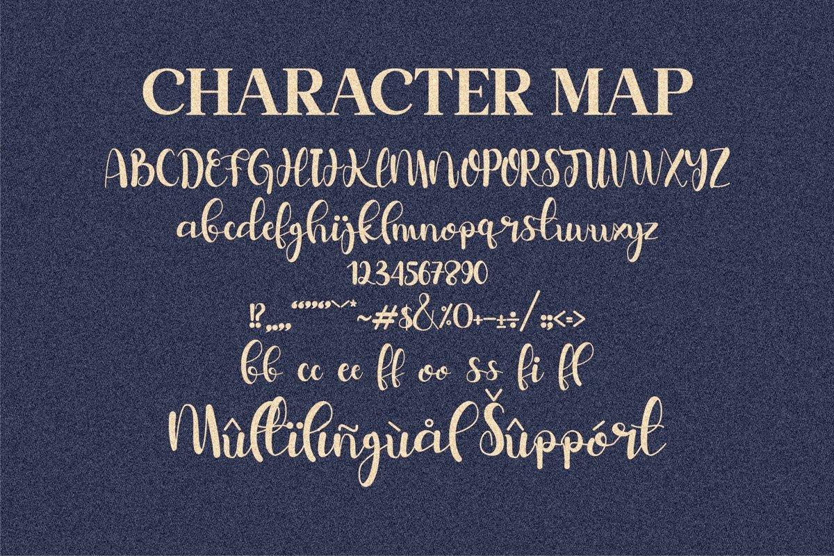 Belymole Calligraphy Script Font -3