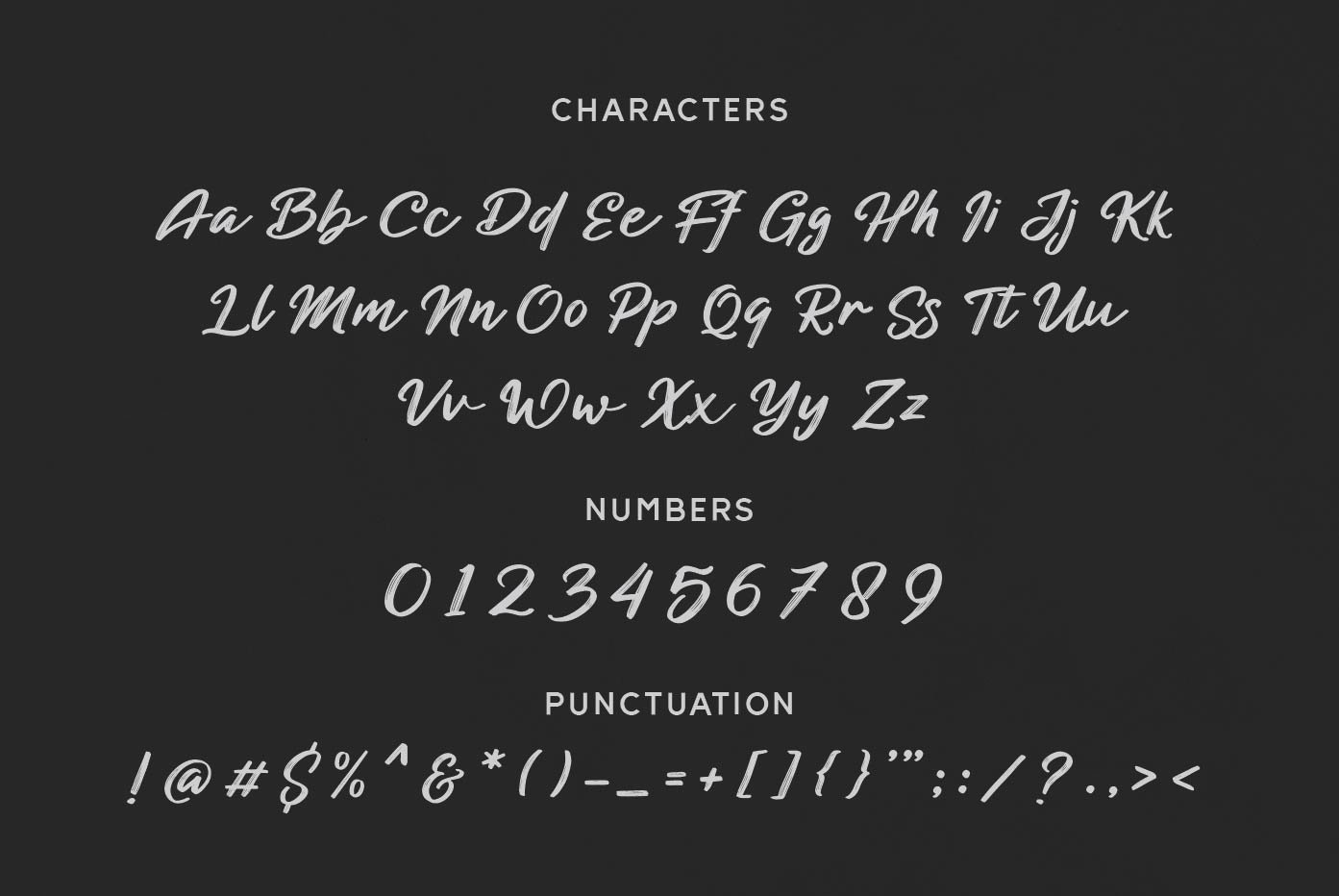 Blackened Brush Script Font-3