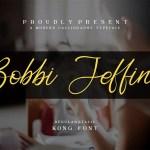 Bobbi Jeffina Font