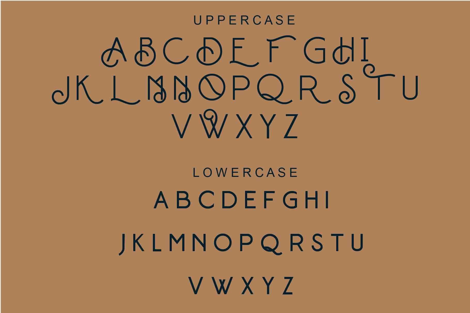 Builder Display Font -2