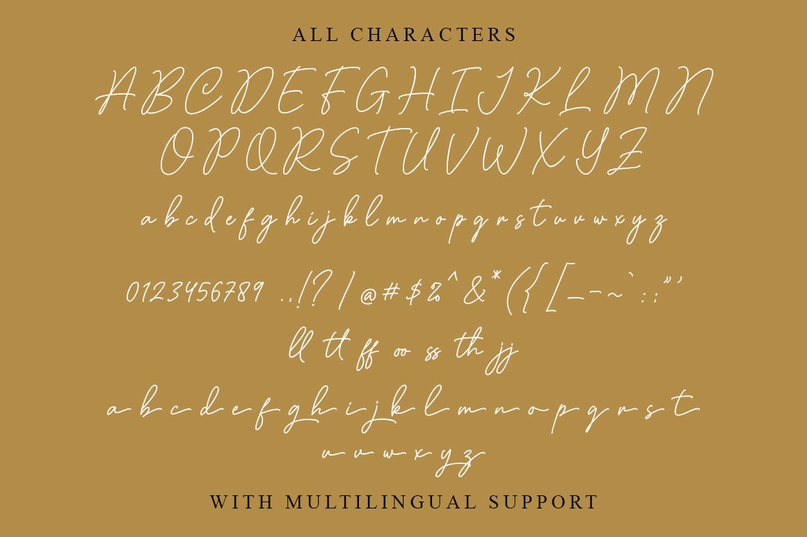 Claudiana Handwritten Font-3