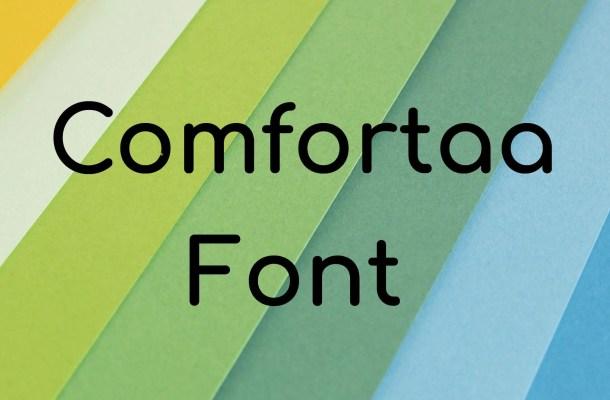 Comfortaa Font Free